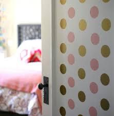 Simple Room Door Decorations For Girls Diy Polka Dot Inside Design