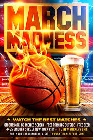 March Madness Flyer March Madness Flyer Template Xtremeflyers