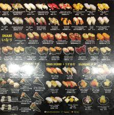 Genki Sushi Menu, Menu for Genki Sushi , CBD, Sydney