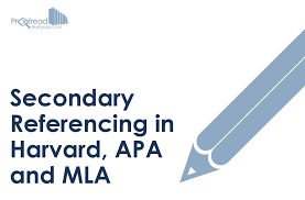 secondary referencing in harvard apa and mla proof my essay secondary referencing in harvard apa and mla
