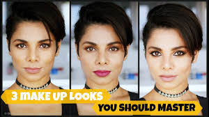 3 makeup looks how to look diffe with makeup