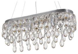 malaga 10 light contemporary crystal chandelier oval shape amber crystals