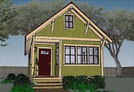 This tiny house goes a little smaller than the previous plans mentioned this house comes in at 480 square feet