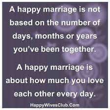 Happy Marriage Quotes Mesmerizing A Happy Marriage Is Not Based On Numbers Amazing Things