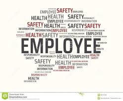 Employee Safty Employee Image With Words Associated With The Topic Work Safety