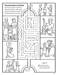 Jesus Baptism Coloring Page Inspirationa Amazing Doctrine Christ Pic