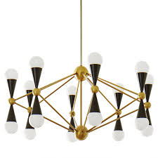 caracas 16 light chandelier modern chandeliers jonathan adler
