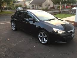vauxhall astra sri gtc 1 6 turbo black 3 door ford mazda