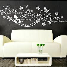 live laugh love dream wall decor clock kitchen accessories border pictures nice wood la boat of dream wall decal sticker home decor