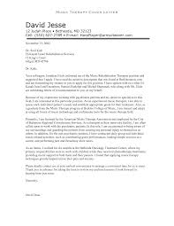 Therapist Cover Letter Camelotarticles Com