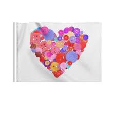 """Флаги c необычными принтами """"День влюблённых"""" - <b>Printio</b>"""