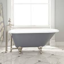 this timeless classic design is the most common tub style found in traditional homes this style features one rounded end which is sloped for lounging