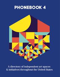 Phonebook 4 Hardcopy Published September 2015 Contemporary Art
