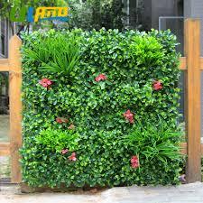 Aliexpresscom Buy 1sqm Artificial Boxwood Plants Fence Plastic . Landscape Privacy  Screen ...