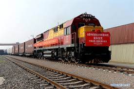 way china europe freight trains