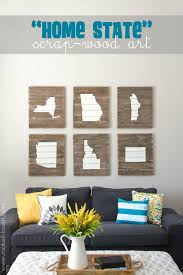 diy home state s wood art proudly display where