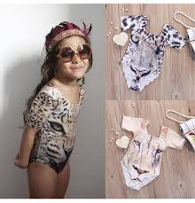 <b>2019 New Children</b> 3D Tiger Printing <b>One Pieces</b> Swimwear <b>Baby</b> ...