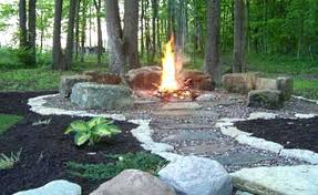 stone fire pit ideas. Awesome Stone Fire Pit Ideas Looking To Do Something Similar With My Paver Patio Plan