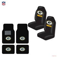 new nfl green bay packers car truck seat covers carpet floor mats