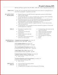 Med Surg Rn Resume Examples Resume Sample New Grad Rn Template Registered Nurse Of Nursing 34