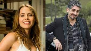 Michel Melamed e Letícia Colin atuarão juntos em série do GloboPlay
