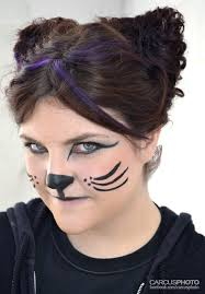 cat face painting for