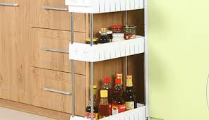 depot units storag set pan for small racks diy narrow containers sri cabinet pots glass kitchen