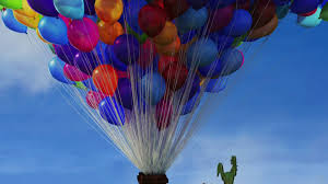 Up House Balloons Up Film Clip Carl Goes Up Hd 2009 Youtube