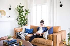 emily henderson sara moto neutral cozy masculine living room 9