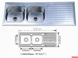 kitchen sink dimensions we found images in standard size single bowl best decoration remodel double