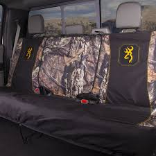 browning full size bench seat cover mossy oak country camo