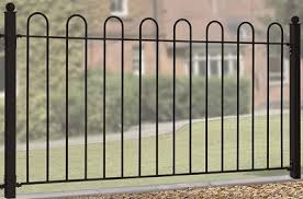 Court Hoop Top Metal Garden Fencing Panels Garden Gates Direct