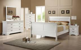 Louis Philippe White Bedroom Set by Coaster