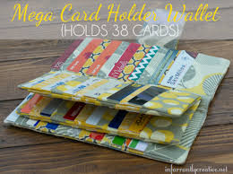 Free Wallet Patterns Adorable Mega Credit Card Wallet Free Sewing Pattern Craftfoxes