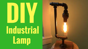 make your own lighting. How To Make Your Own Industrial Lamp! Lighting