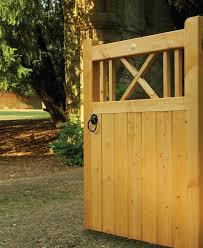 buxton wooden garden gate buxton