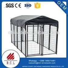china supplier large outdoor welded wire dog kennel with roof pet enclosure cover best ground for kennel cover kit x high pitch st truss outdoor dog