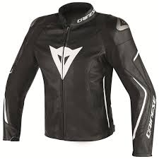 dainese assen leather jacket black