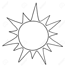 outstanding coloring pictures of sun outlined summer royalty free cliparts vectors and stock