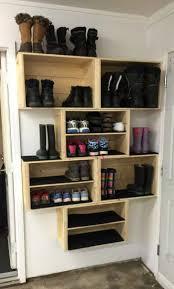 shoe organizer furniture. DIY Crate Shoe Storage Organizer Furniture