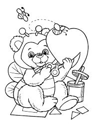Kleurplaat Valentijn Liefde 3296