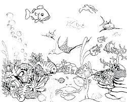 Fish Coloring Pages For Kids Fishing Coloring Pages Printable Fish