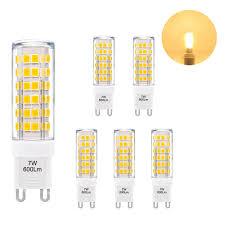 25w Equivalent Bright White G9 Led Light Bulb Us 18 99 Super Bright 7w G9 Gu9 Miniature Led Light Bulb Capsule Corn Lamp Bulb Warm White Ac110 120v Replace 60w G9 Halogen Light Bulb In Led Bulbs
