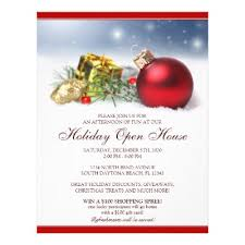 christmas open house flyer business holiday and christmas open house flyers zazzle com
