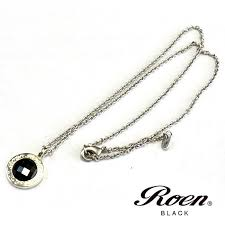 just arrived new necklaces from roen roen black