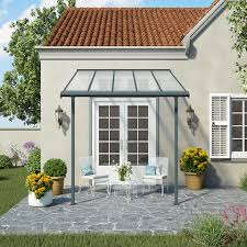 sierra grey and white patio covers