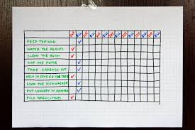 Make A Chore Chart Kozen Jasonkellyphoto Co