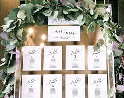 Seating Chart Wedding Wedding Seating Chart Template Seating Chart Display Wedding Seating Cards Table Cards Seating Cards Pdf Instant Download Bpb310_5