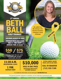 2nd Annual Beth Ball Golf Tourney - Sarcoma Foundation of America