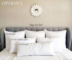 King Size Decorative Pillows